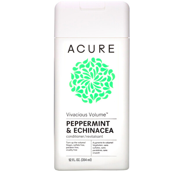Acure, Vivacious Volume Conditioner, Peppermint