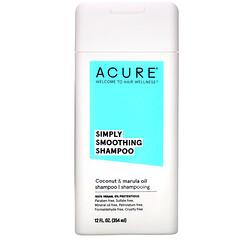 Acure, Simply Smoothing Shampoo, Coconut & Marula Oil, 12 fl oz (354 ml)
