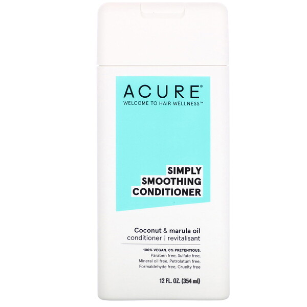 Simply Smoothing Conditioner, Coconut & Marula Oil, 12 fl oz (354 ml)