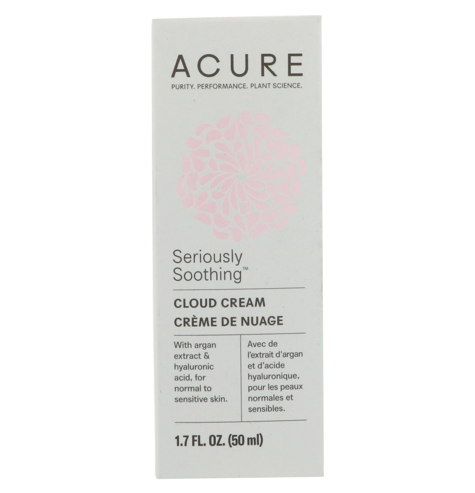 Acure Seriously Soothing Cloud Cream 1 7 Fl Oz 50 Ml