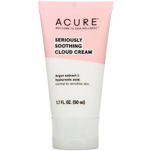 Акьюр Органикс, Seriously Soothing, Cloud Cream, 1.7 fl oz (50 ml) отзывы покупателей
