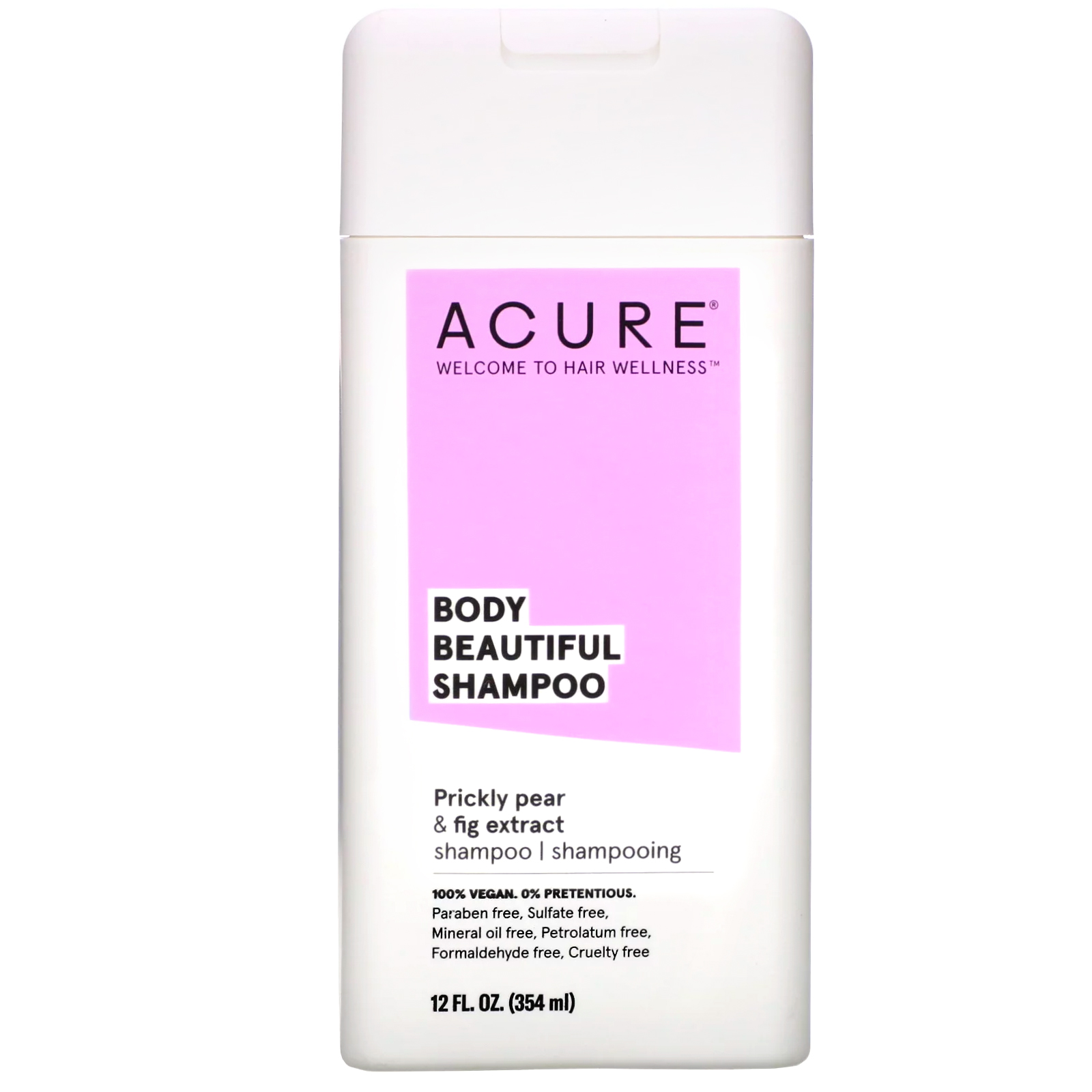 Body Beautiful Shampoo, Prickly Pear & Fig Extract, 12 Fl