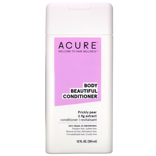 Body Beautiful Conditioner, Prickly Pear & Fig Extract, 12 fl oz (354 ml)