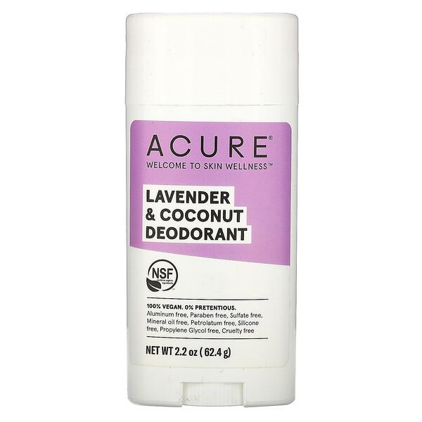 Deodorant, Lavender & Coconut, 2.2 oz (62.4 g)