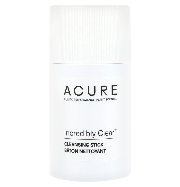 Acure, Incredibly Clear Cleansing Stick, 2 oz (57 g) (Discontinued Item)