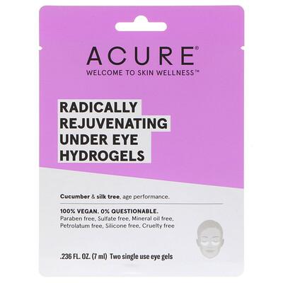 Купить Радикально омолаживающая гидрогелевая маска под глаза, 2 одноразовых гелевых накладки, 0, 236 ж. унц. (7 мл)