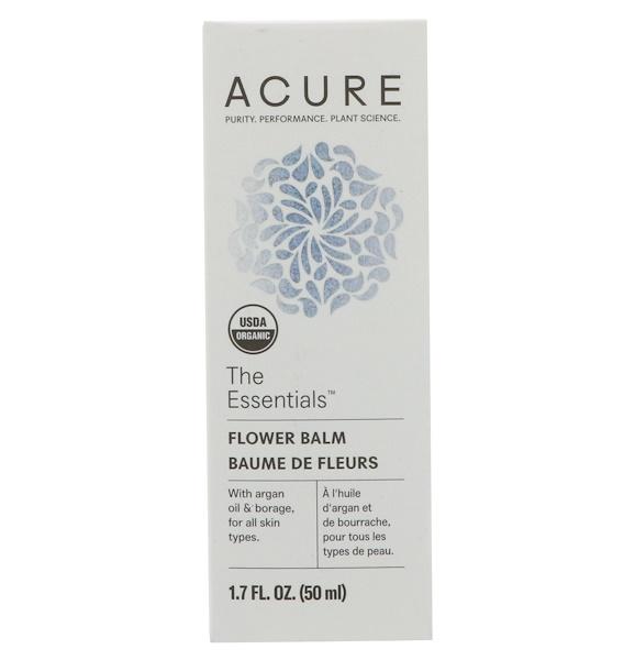 Acure, The Essentials Flower Balm, 1.7 fl oz (50 ml) (Discontinued Item)