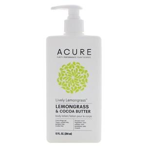 Акьюр Органикс, Lively Lemongrass Body Lotion, Lemongrass & Cocoa Butter, 12 fl oz (354 ml) отзывы
