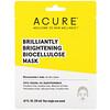 Acure, Brilliantly Brightening, Biocellulose Mask, 1 Single Use Mask, .67 fl oz (20 ml)