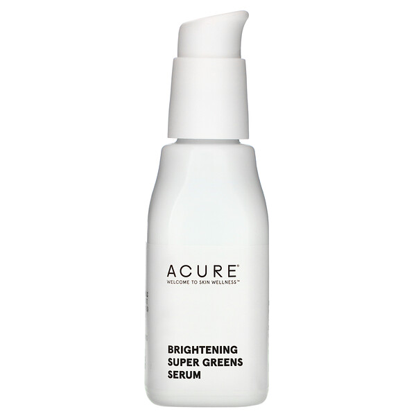 Brightening, Super Greens Serum, 1 fl oz (30 ml)
