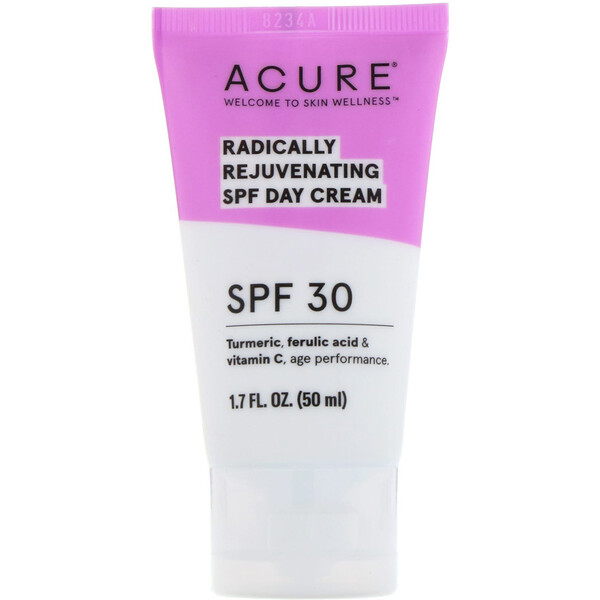 Acure, Radically Rejuvenating Day Cream, SPF 30, 1.7 fl oz (50 ml)