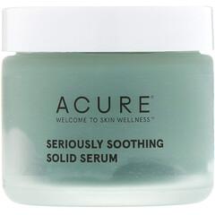 Acure, 真正舒緩固體精華,1.7 液量盎司(50 毫升)