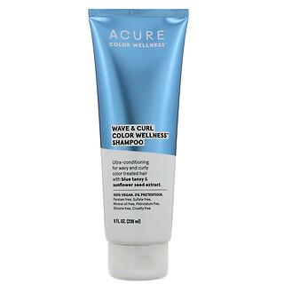 Acure, Wave & Curl Color Wellness Shampoo, 8 fl oz (236 ml)