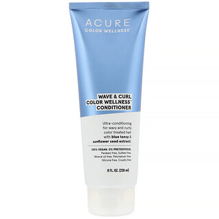 Acure, Wave & Curl Color Wellness Conditioner, 8 fl oz (236 ml)