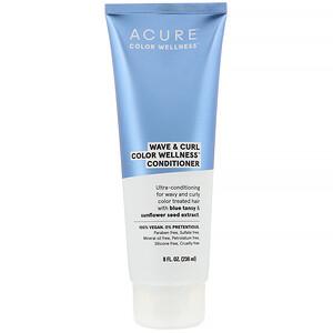 Акьюр Органикс, Wave & Curl Color Wellness Conditioner, 8 fl oz (236 ml) отзывы