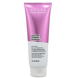 Acure, Unicorn Shimmer Shampoo, 8 fl oz (236 ml)