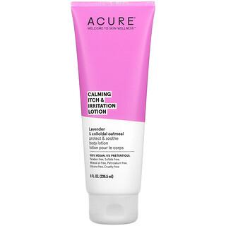 Acure, Calming Itch & Irritation Lotion, 8 fl oz (236.5 ml)