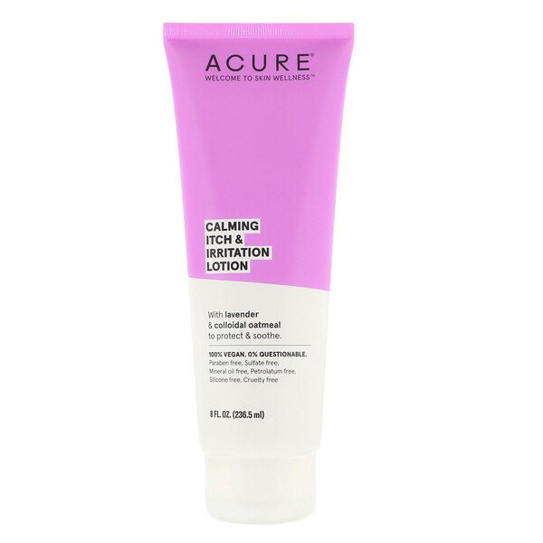 Acure, Calming Itch & Irritation Lotion, 8 fl oz (236.5 ml)