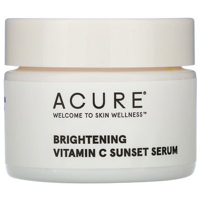 Купить Acure Brightening Vitamin C Sunset Serum, 1 fl oz (30 ml)