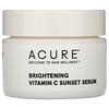 Acure, Brightening Vitamin C Sunset Serum, 1 fl oz (30 ml)