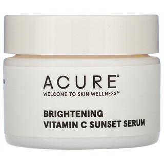 Acure, مصل غروب الشمس لتفتيح البشرة بفيتامين جـ، أونصة سائلة واحدة (30 مل)