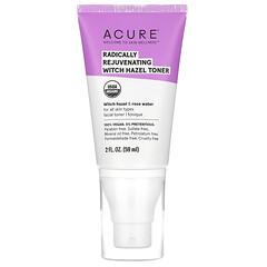 Acure, Radically Rejuvenating, Witch Hazel Toner, 2 fl oz (59 ml)