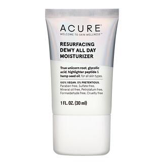 Acure, Resurfacing Dewy All Day Moisturizer, 1 fl oz (30 ml)