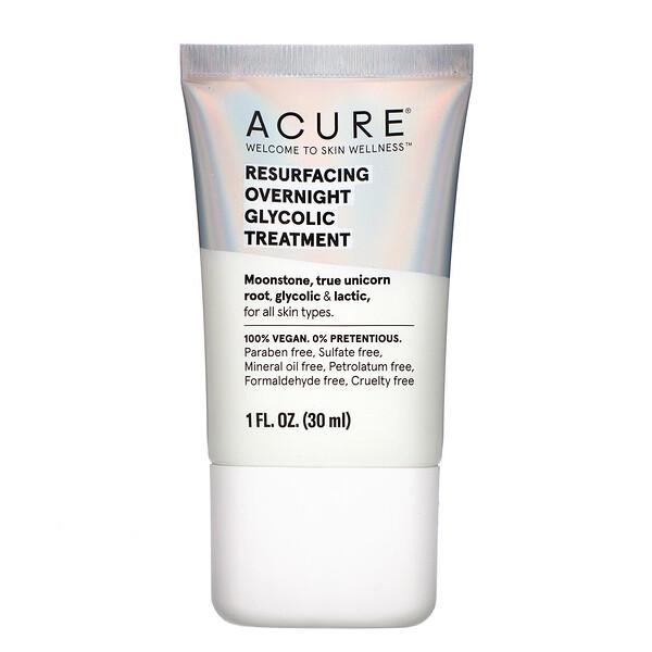 Resurfacing Overnight Glycolic Treatment, 1 fl oz (30 ml)