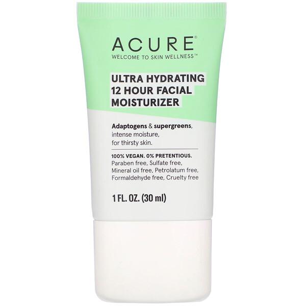 Ultra Hydrating 12 Hour Facial Moisturizer, 1 fl oz (30 ml)
