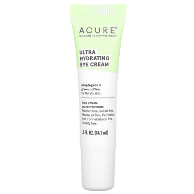 Acure Ultra Hydrating, Eye Cream, 0.5 fl oz (14.7 ml)