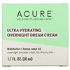 Acure, Ultra Hydrating Overnight Dream Cream, 1.7 fl oz (50 ml)