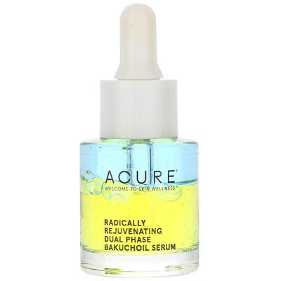 Купить Acure Radically Rejuvenating Dual Phase Bakuchiol Serum, 0.67 fl oz (20 ml)