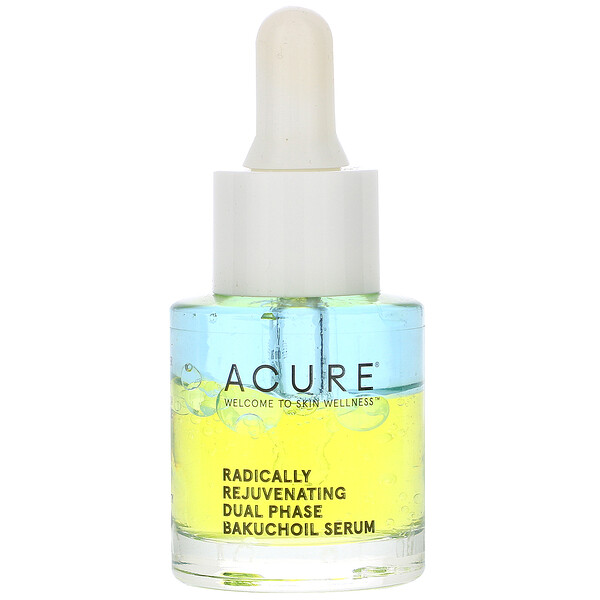 Acure, Radically Rejuvenating Dual Phase Bakuchiol Serum, 0.67 fl oz (20 ml)