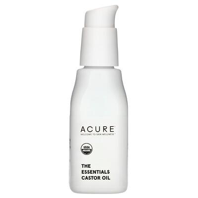 Купить Acure The Essentials, касторовое масло, 30мл (1жидк.унция)