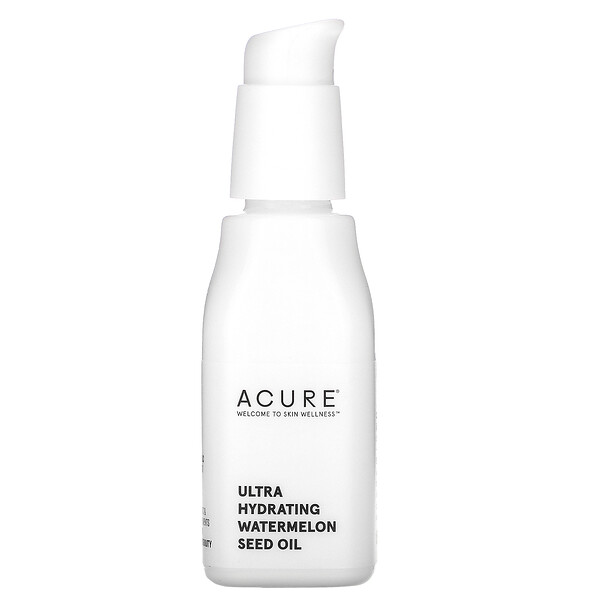 Acure, Ultra Hydrating, Watermelon Seed Oil, 1 fl oz (30 ml)