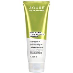 Acure, 離子金髮健康洗髮露,8 液量盎司(236 毫升)