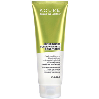 Acure, Ionic Blonde Color Wellness Conditioner, 8 fl oz (236 ml)