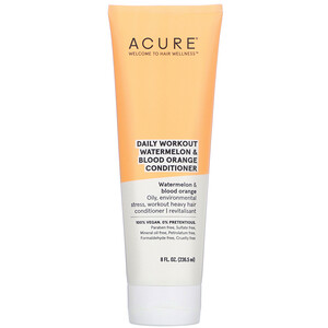 Acure, Daily Workout Watermelon & Blood Orange Conditioner,  8 fl oz (236.5 ml)