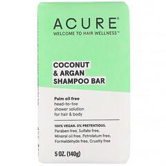 Acure, 椰子和摩洛哥堅果洗髮皂,5 盎司(140 克)