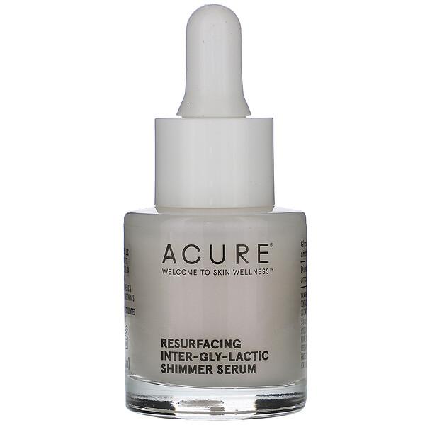 Resurfacing Inter-Gly-Lactic Shimmer Serum, 0.67 fl oz (20 ml)