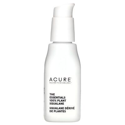 Купить Acure The Essentials 100% Plant Squalane, 1 fl oz (30 ml)