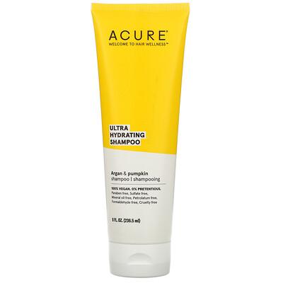 Acure Ultra Hydrating Shampoo, Argan Oil & Pumpkin, 8 fl oz (236.5 ml)