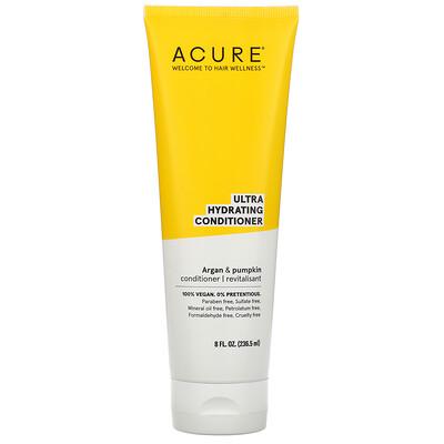 Acure Ultra Hydrating Conditioner, Argan Oil & Pumpkin, 8 fl oz (236.5 ml)