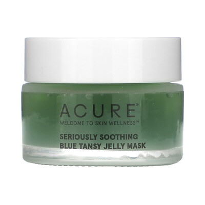 Acure Seriously Soothing, Blue Tansy Jelly Mask, 1 fl oz (30 ml)