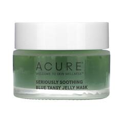 Acure, Seriously Soothing,,藍艾菊果凍美容面膜,1 盎司(30 毫升)