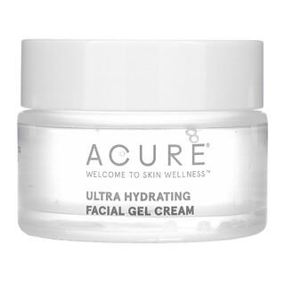 Acure, Ultra Hydrating, Facial Gel Cream, 1 fl oz (30 ml)