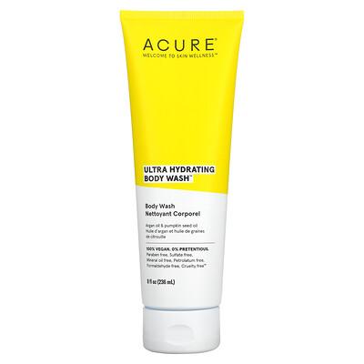 Acure Ultra Hydrating Body Wash, Argan Oil & Pumpkin Seed Oil, 8 fl oz (236 ml)