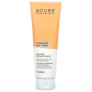 Acure, Energizing Body Wash, Watermelon & Mandarin Orange, 8 fl oz (236 ml)