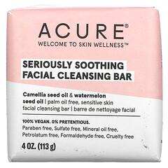 Acure, 優效舒緩潔面皂,4 盎司(113 克)