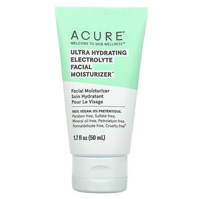 Купить Acure Ultra Hydrating Electrolyte Facial Moisturizer, 1.7 fl oz (50 ml)